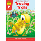 Tracing Trails Workbook with Stickers Cover Image