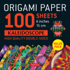 Origami Paper 100 Sheets Kaleidoscope 6