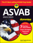 2022 / 2023 ASVAB for Dummies: Book + 7 Practice Tests Online + Flashcards + Video Cover Image