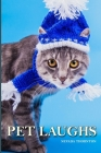 Pet Laughs: a Picture Book In Large Print For Adults And Seniors Cover Image