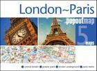 London & Paris Popout Map (Popout Maps) Cover Image
