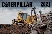 Caterpillar Calendar 2021 Cover Image