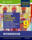 Complete English as a Second Language for Cambridge Secondary 1 Student Workbook 9 & CD Cover Image