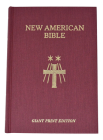 Saint Joseph Giant Print Bible-NABRE Cover Image