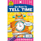 School Zone Tell Time Tablet Workbook Cover Image