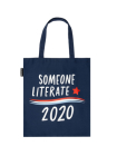 Someone Literate Tote Bag Cover Image