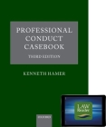 Professional Conduct Casebook: Digital Pack [With DVD] Cover Image