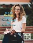 16 x 16 Medium Sudoku Puzzle Buch für Erwachsene Cover Image