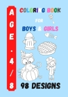 Coloring Book for Boys and Girls: Kids Coloring Activity (Rainbow #28) Cover Image