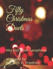 Fifty Christmas Duets: Alto and Tenor Saxophone Cover Image