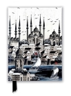 Constantinople Silver (Foiled Journal) (Flame Tree Notebooks) Cover Image