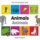 My First Bilingual Book–Animals (English–Portuguese) Cover Image