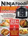 Ninja Foodi Pressure Cooker and Air Fryer Cookbook Cover Image