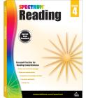 Spectrum Reading Workbook, Grade 4 Cover Image