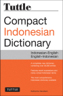 Tuttle Compact Indonesian Dictionary: Indonesian-English English-Indonesian Cover Image