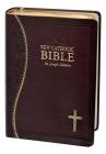 New Catholic Bible Medium Print Dura Lux (Burgundy) Cover Image
