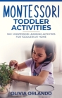Montessori Toddler Activities: 100+ Montessori Learning Activities for Toddlers at home Cover Image