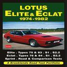 Lotus Elite & Eclat: 1974-1982 (Road Test Portfolio) Cover Image