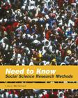 Need to Know: Social Science Research Methods Cover Image
