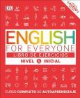 English for Everyone: Nivel 1: Inicial, Libro de Ejercicios: Curso Completo de Autoaprendizaje Cover Image