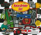 Let's Pretend Race Driver Set: With Fun Puzzle Pieces Cover Image