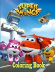 Super Wings Coloring Book Cover Image
