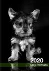 2020 Dog Calendar: Black and White Dog Portraits Cover Image