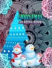 Christmas Coloring book: 50 Beautiful images of Winter Christmas holiday scenes, Santa, reindeer, elves, snow, holiday decorations, Christmas t Cover Image