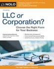 LLC or Corporation?: Choose the Right Form for Your Business Cover Image