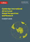 Collins Cambridge International AS & A Level: Global Perspectives Student's Book Cover Image