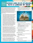 Common Core State Standards: Math And Language 1st Grade (Speedy Study Guides) Cover Image