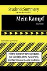 Mein Kampf Analysis and Summary(student's and Teacher's Edition) Cover Image