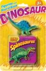 Dino Figurine + Board Book Spinosaurus Cover Image