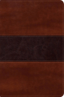RVR 1960 Biblia del Pescador letra grande, caoba símil piel Cover Image