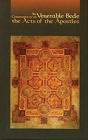 The Venerable Bede: Commentary on the Acts of the Apostles (Cistercian Studies #117) Cover Image
