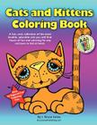 Cats and Kittens Coloring Book Cover Image