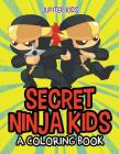 Secret Ninja Kids (A Coloring Book) Cover Image