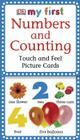 My First Touch and Feel Picture Cards: Numbers and Counting (My 1st T&F Picture Cards) Cover Image