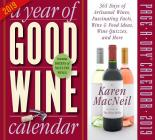 Year of Good Wine Page-A-Day Calendar 2019 Cover Image