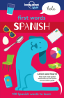 First Words - Spanish 1 (Lonely Planet Kids) Cover Image