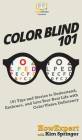 Color Blind 101: 101 Tips and Stories to Understand, Embrace, and Live Your Best Life with Color Vision Deficiency Cover Image