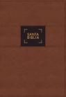 Nbla Biblia de Estudio Gracia Y Verdad, Leathesoft, Café, Interior a DOS Colores, Con Índice Cover Image