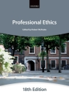 Professional Ethics (Bar Manuals) Cover Image