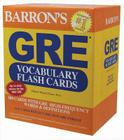 Barron's GRE Vocabulary Flash Cards Cover Image