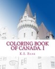 Coloring Book of Canada. I Cover Image