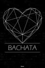 Bachata Planner: Bachata Geometric Heart Music Calendar 2020 - 6 x 9 inch 120 pages gift Cover Image