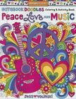 Notebook Doodles Peace, Love, and Music: Coloring & Activity Book Cover Image