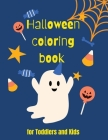 Haloween coloroing book for kids Activity coloring book for kids Cover Image