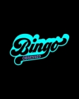 Bingo Obsessed: Score Sheet Record Notebook - Track Wins - Gift for Bingo Addicts and Fanatics Cover Image