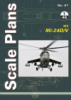 Mil Mi-24d/V (Scale Plans) Cover Image